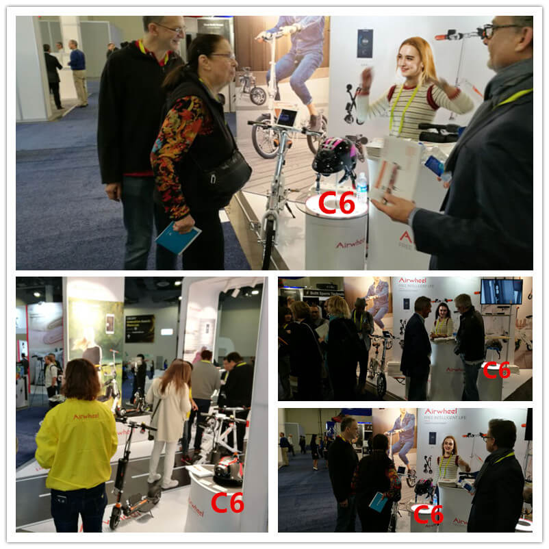 Airwheel Attend the 2017 CES to Show Their Latest Achievement
