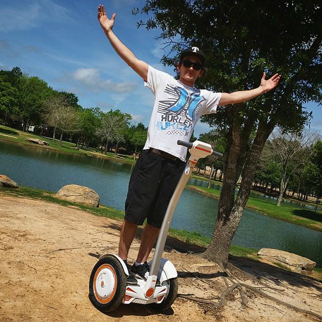 Airwheel, دراجة إيرويل الكهربائية, سكوتر كهربائي