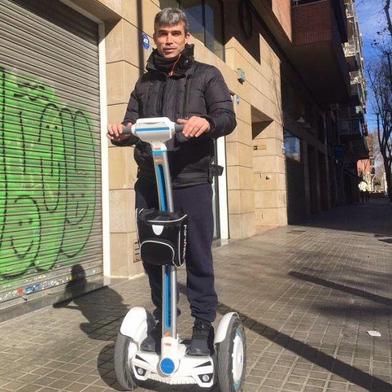 Airwheel E-monocycles mène vert voyage