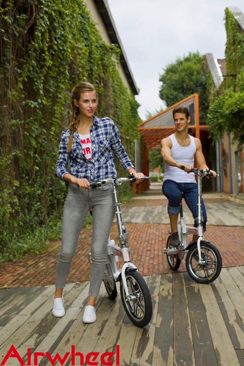citizen folding electric bike