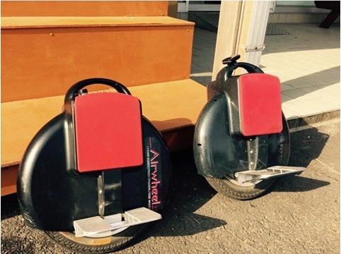 Airwheel Monocycle électrique intelligent X3 commence un style de vie branché.