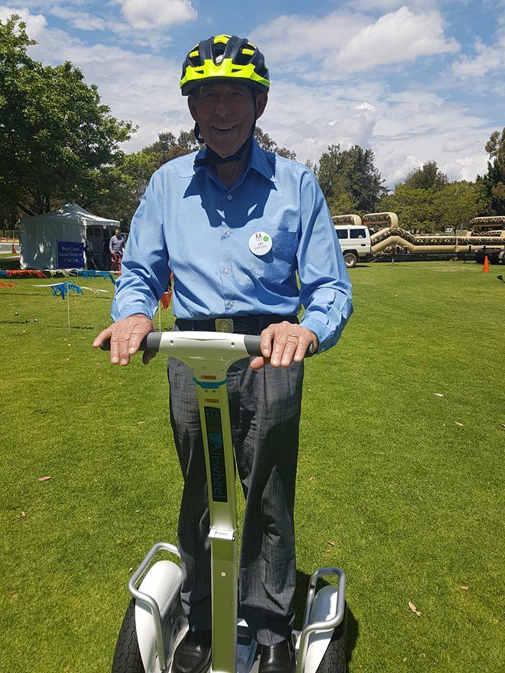 scooter elettrico con una sede