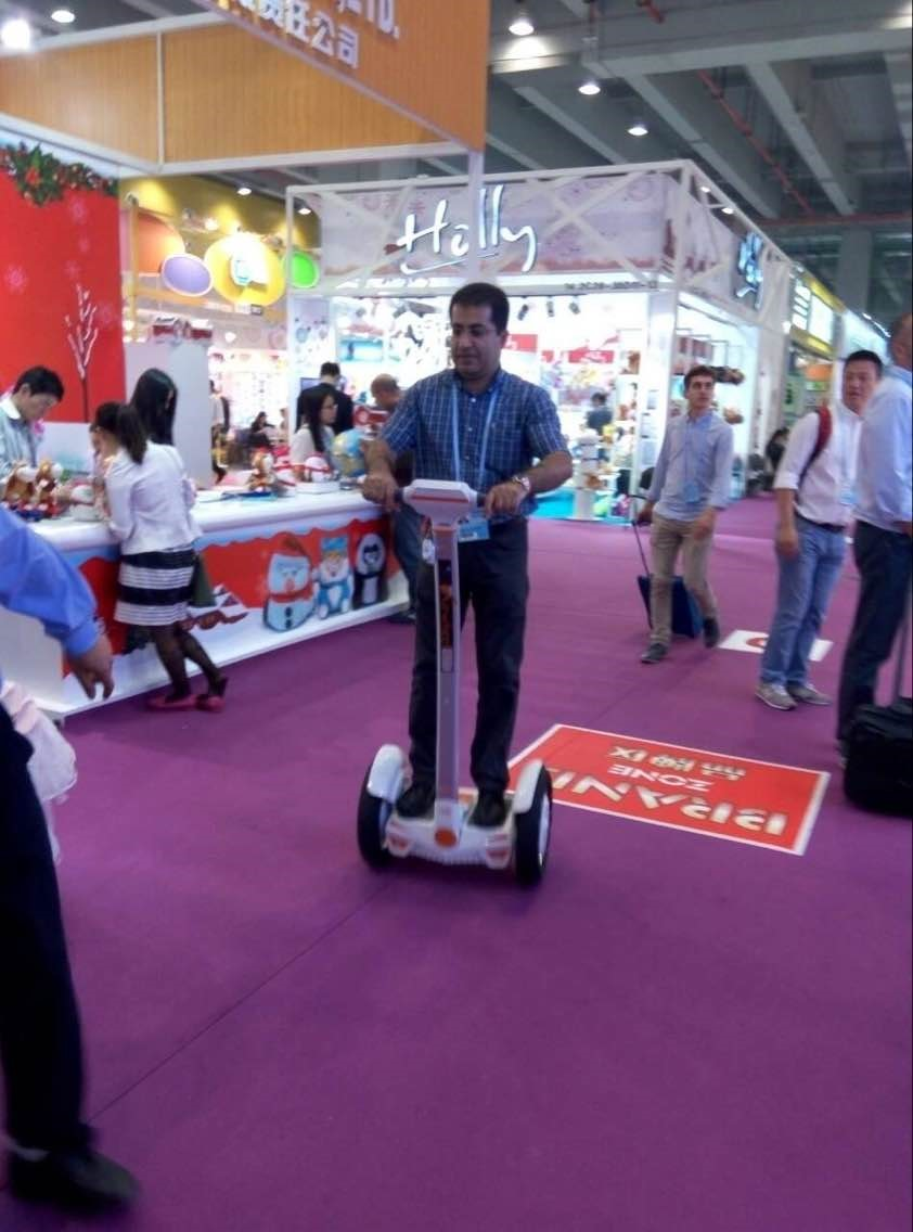 Airwheel a gagné beaucoup d'Attention au Canton Fair 2015