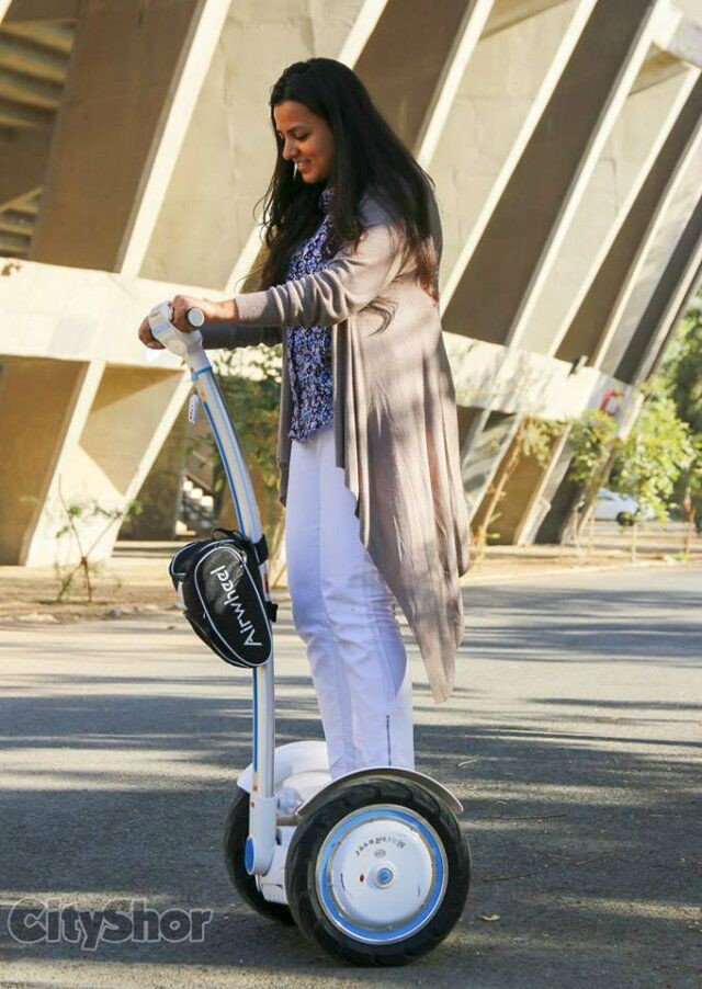 Airwheel Makes Electric Unicycle Affordable