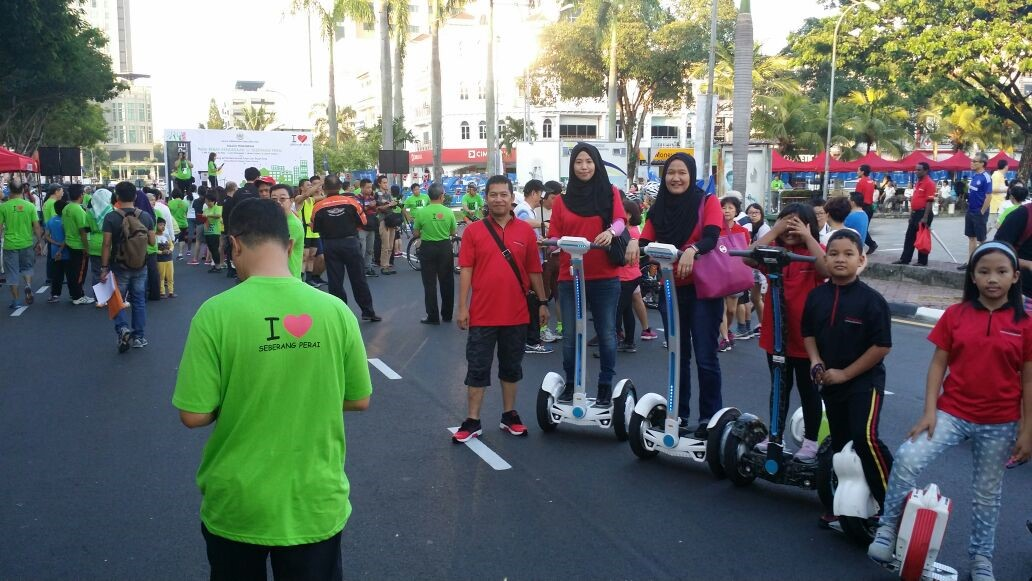 Mpsp Car Free Morning Launching Ceremony airwheel