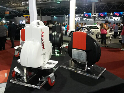 Trend man and woman choose Airwheel