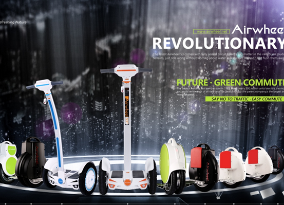 Airwheel intelligente Self-balancing Scooter S3 an das kostenlose Auto-Tag-Programm in Seberang Prai, Penang