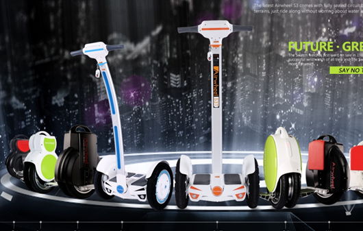 Airwheel, eléctrico scooter, auto-equilibrio scooter