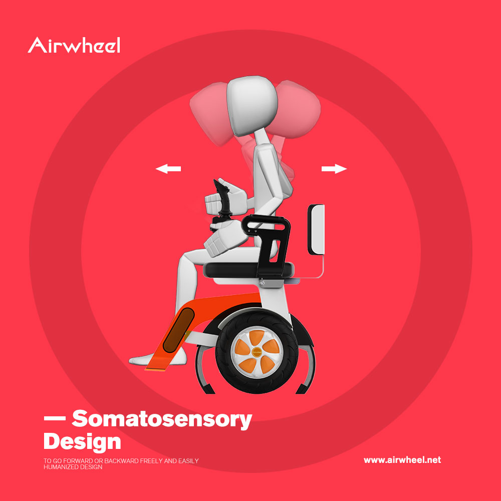 Airwheel A6 smart electric wheelchair