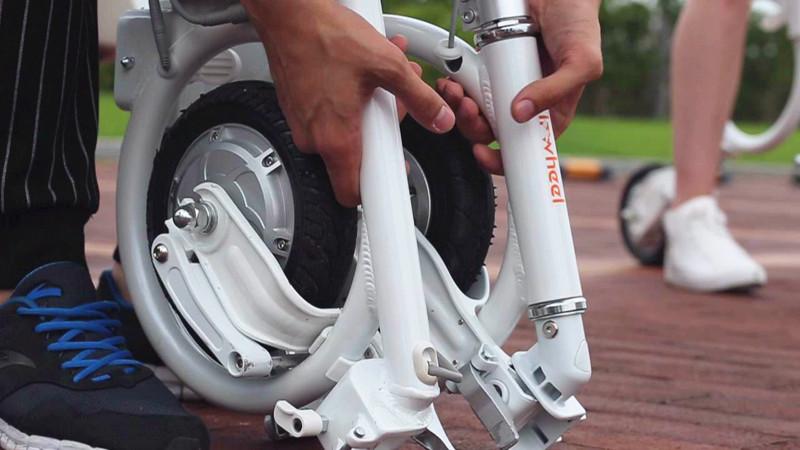 pieghevole mountain bike elettrica