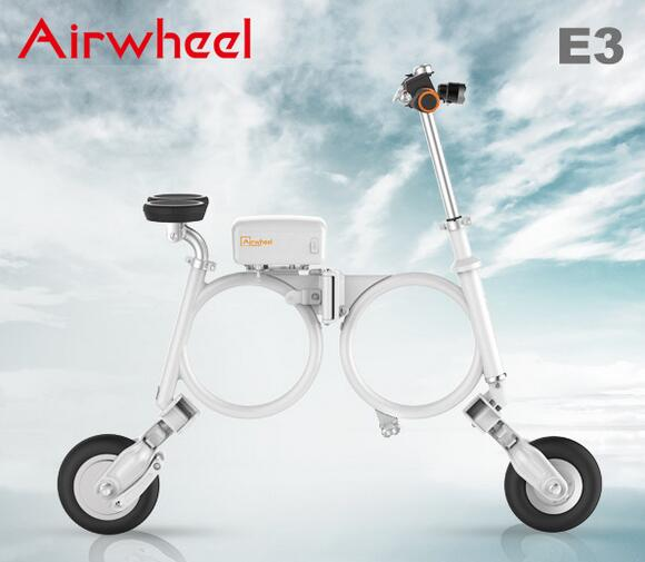 The smart electric folding bike E3