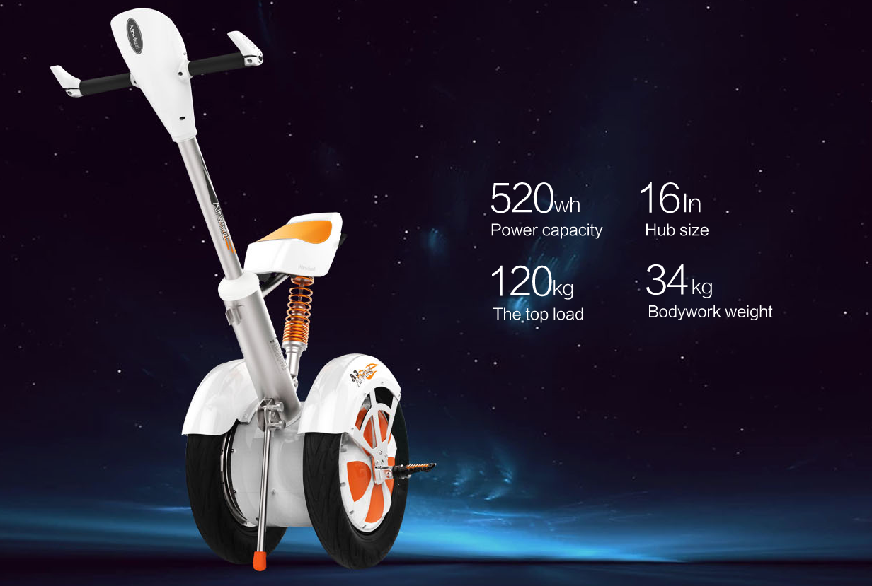 A3 two-wheeled intelligent scooter