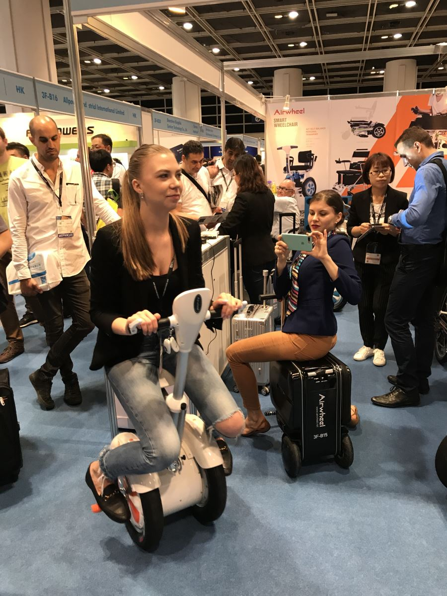 Airwheel at 2018 Hong Kong Electronics Fair