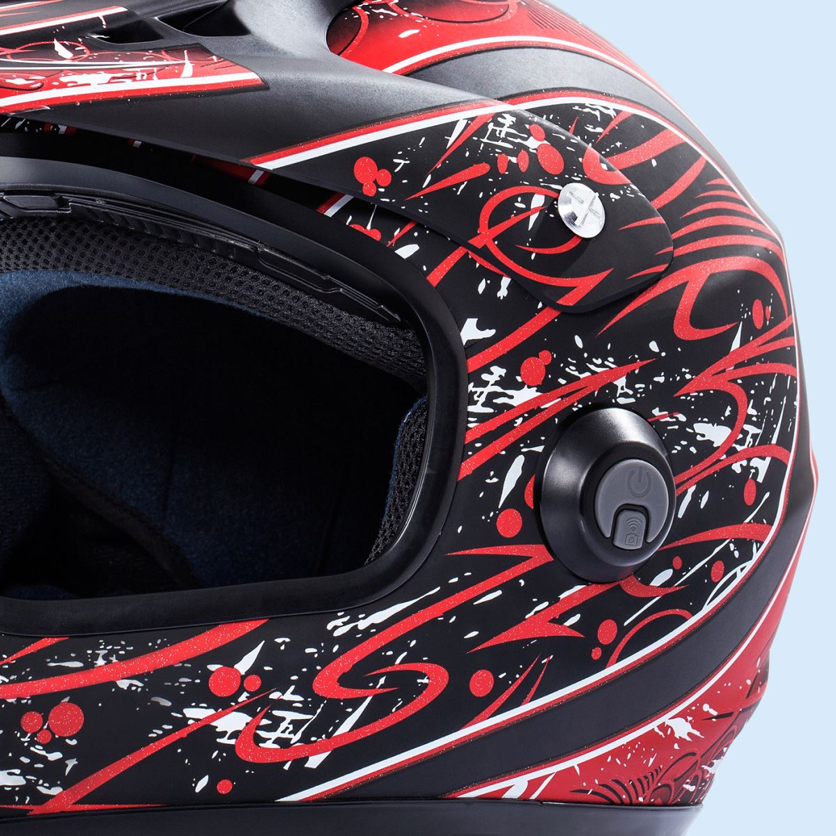 intelligent racing helmet