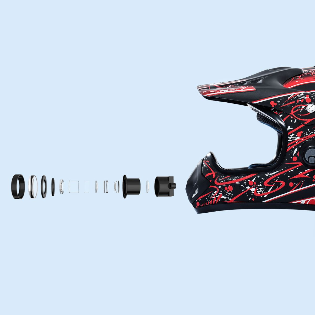 casco intelligente Airwheel C8