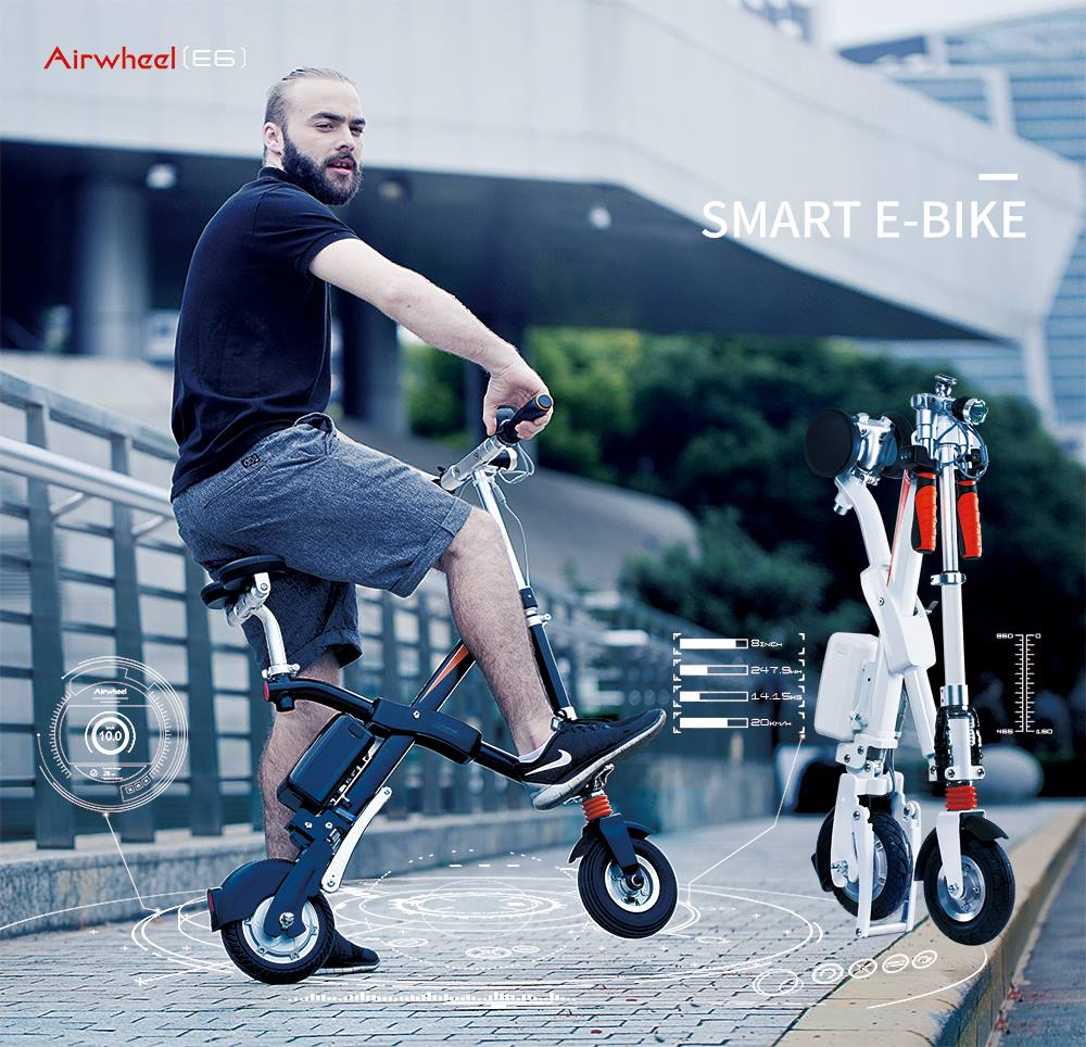 Airwheel folding e bikes