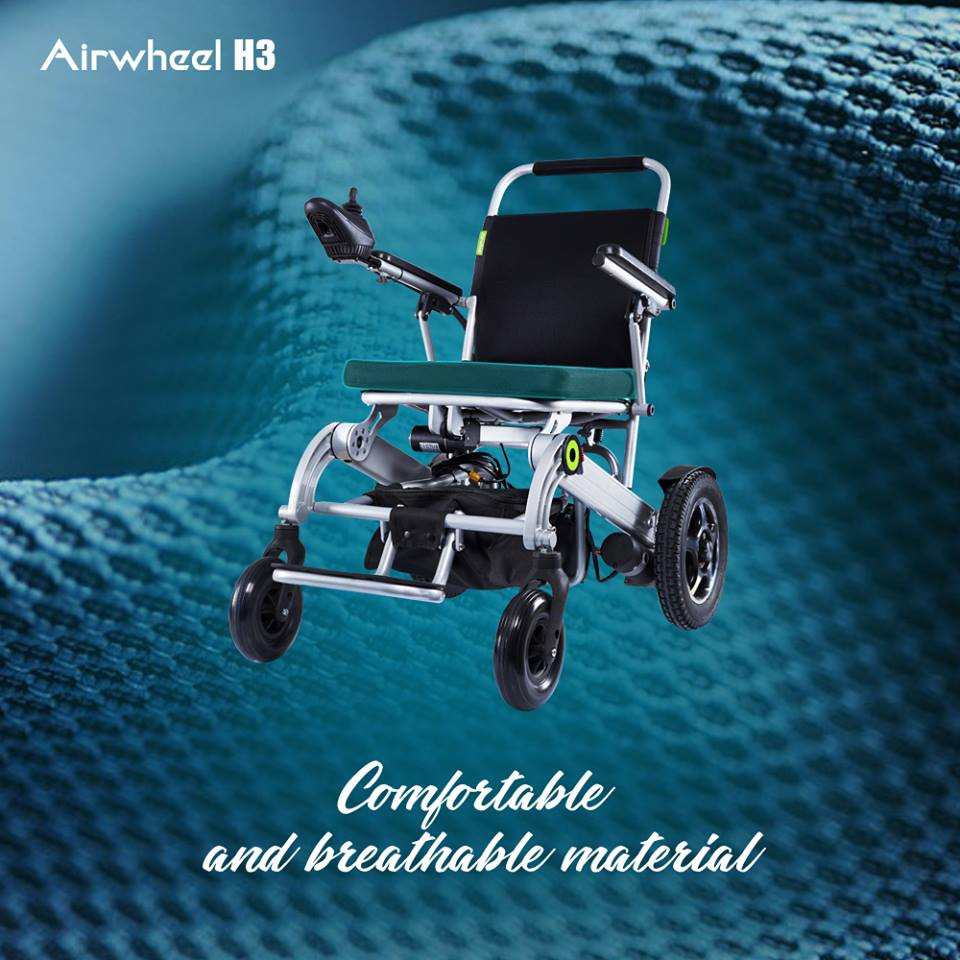 H3 outdoor/indoor wheelchair