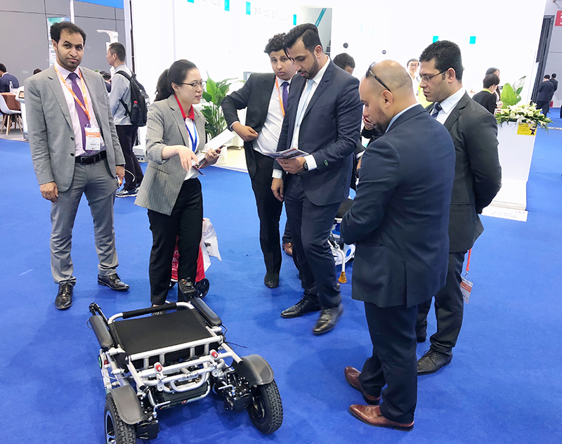 Airwheel H3S Smart chair at 79th CMEF