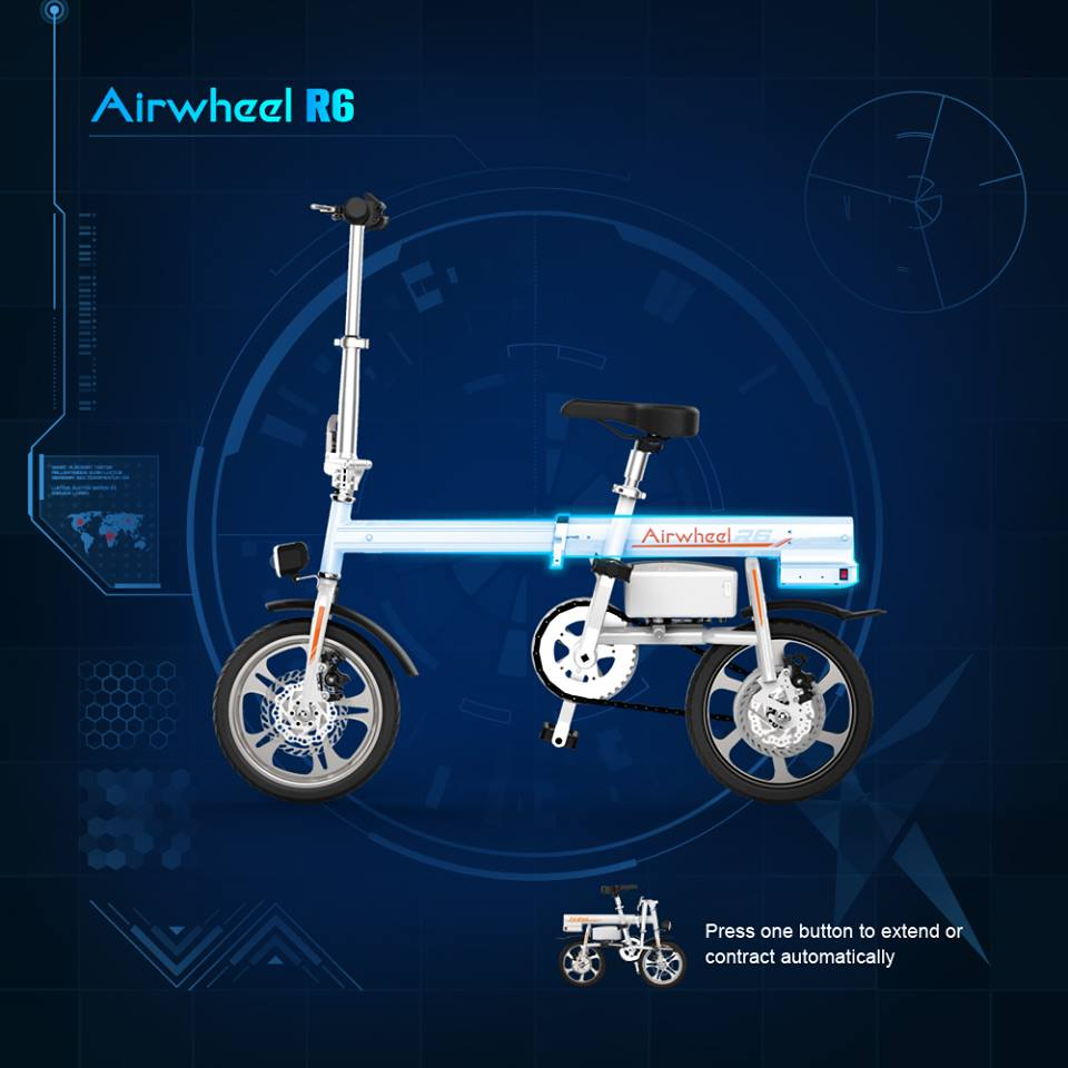 Airwheel mars rover