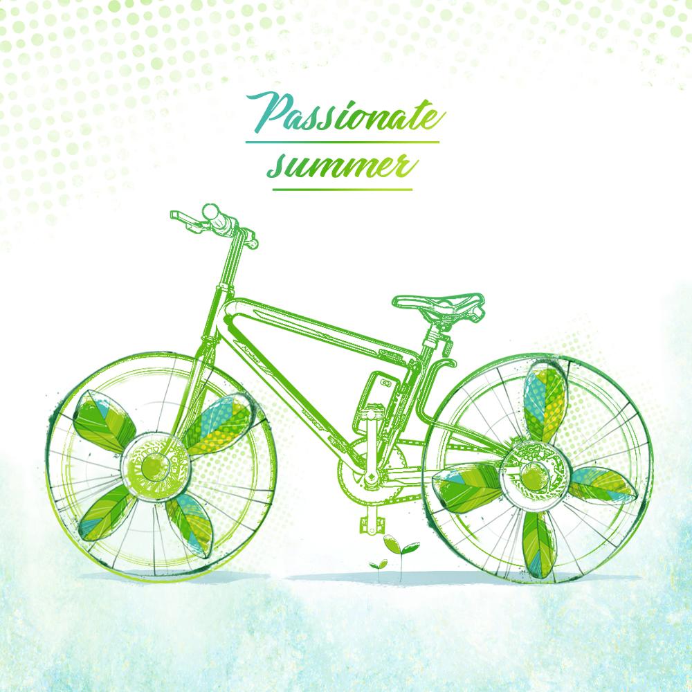Airwheel R8 الدراجة الجبلية الكهربائية