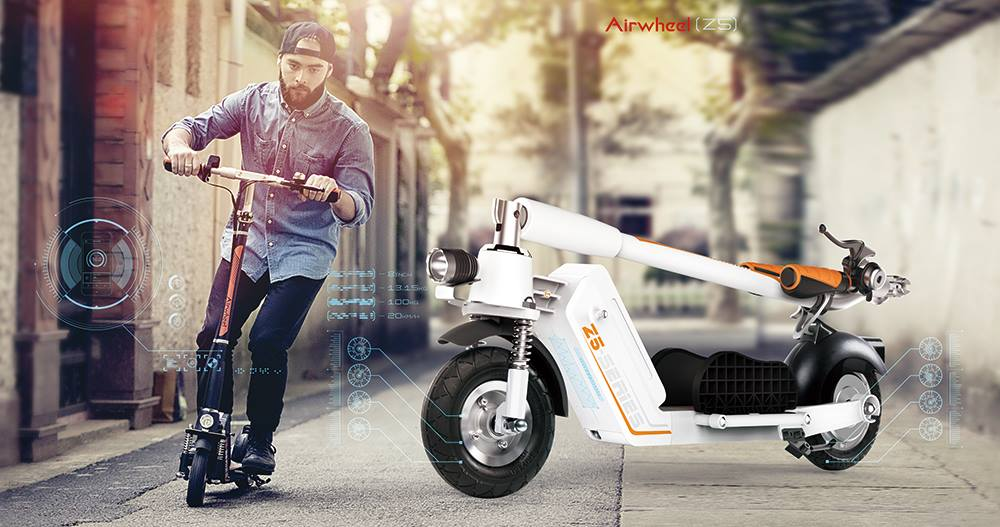double-wheels electric scooter