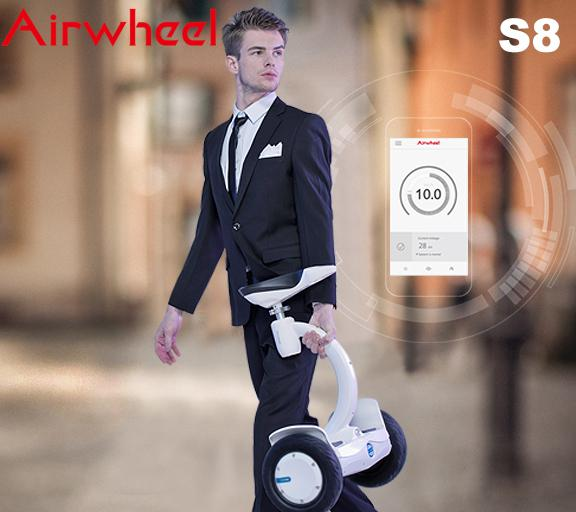 Airwheel S8 scooter eith seat
