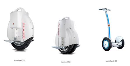 Airwheel uma roda elétrico