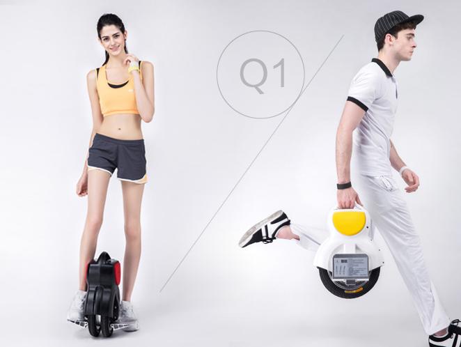 q1  سكوتر كهربائي متوازن ذاتيا