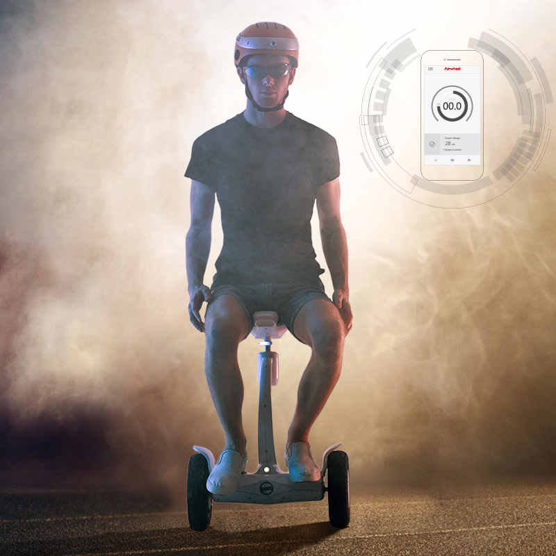 CE certified Airwheel S8 smart scooter hoverboard