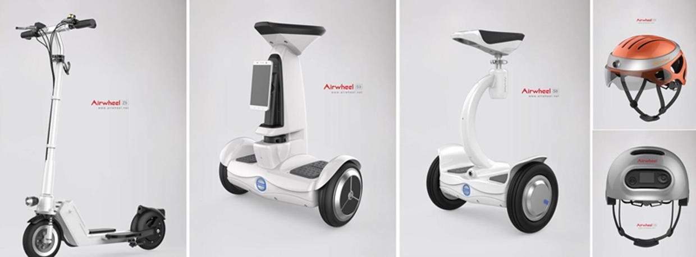 scooter motorisé avec le siège