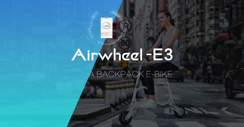 Airwheel selbststabilisierendes elektroroller