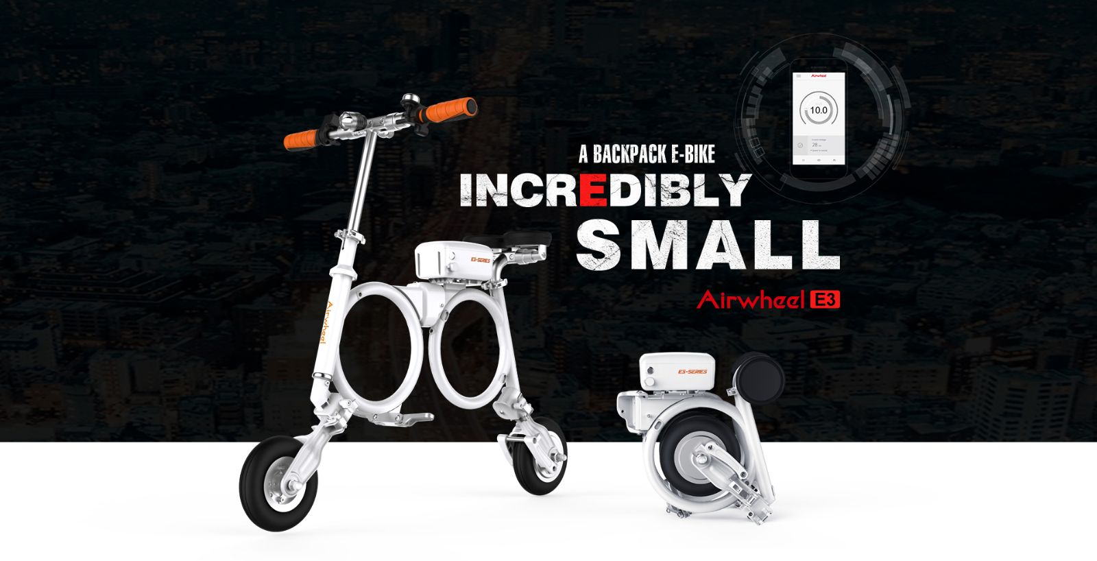 folding electric bike E3