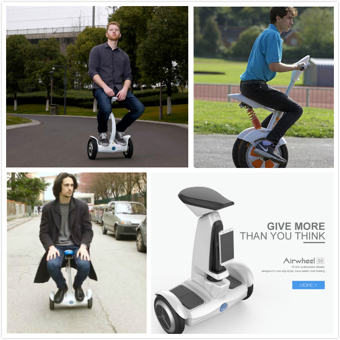 Airwheel scooter auto-équilibrage