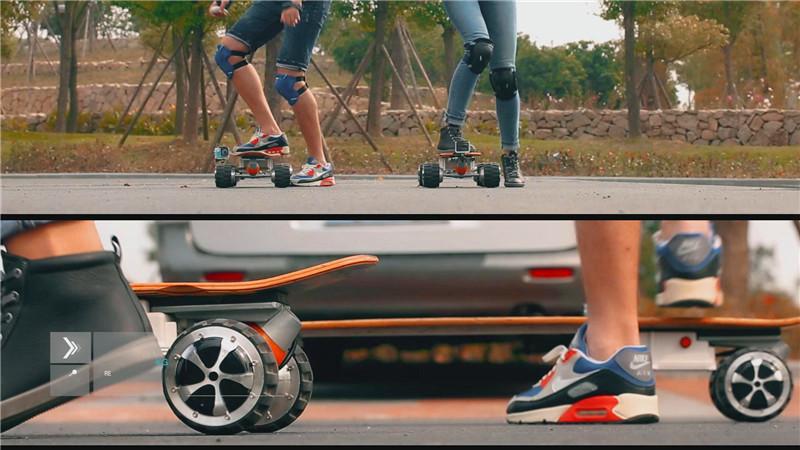 skate motorizado
