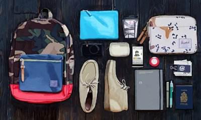 Mantenere gli elementi importanti in tasche o portafogli
