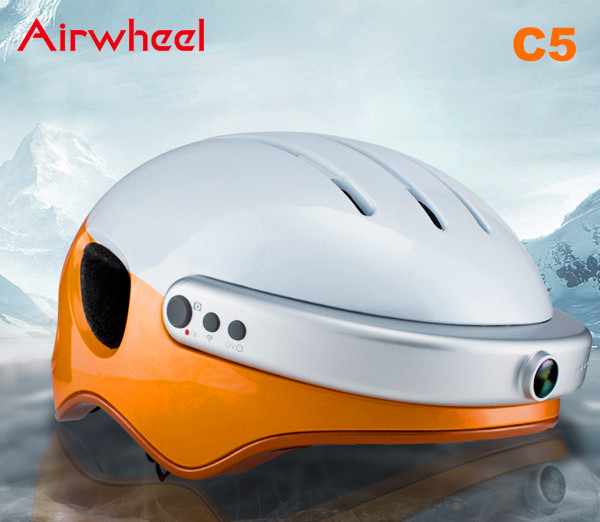Airwheel C5 helmet heads up display