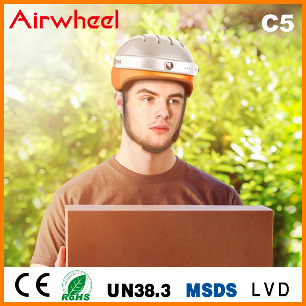 Airwheel C5 helmet with action camera