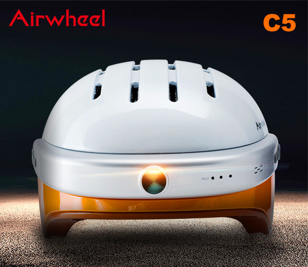 Airwheel C5 helmet camera