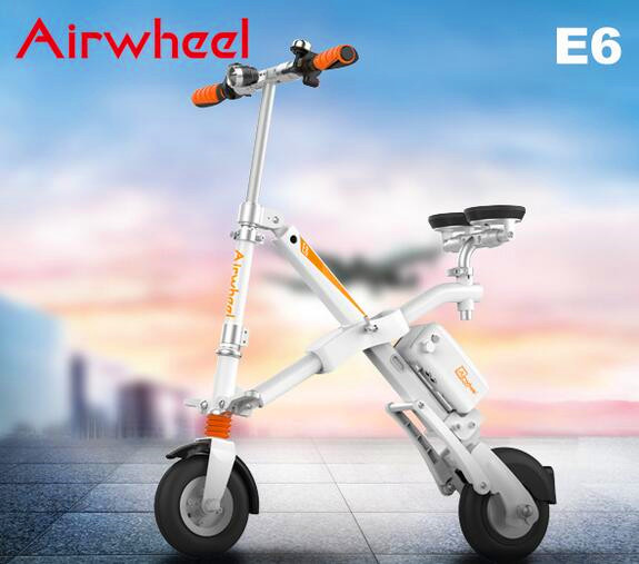 Airwheel E6 X Shaped intelligent E Bike Is a Convenient Transport for Work