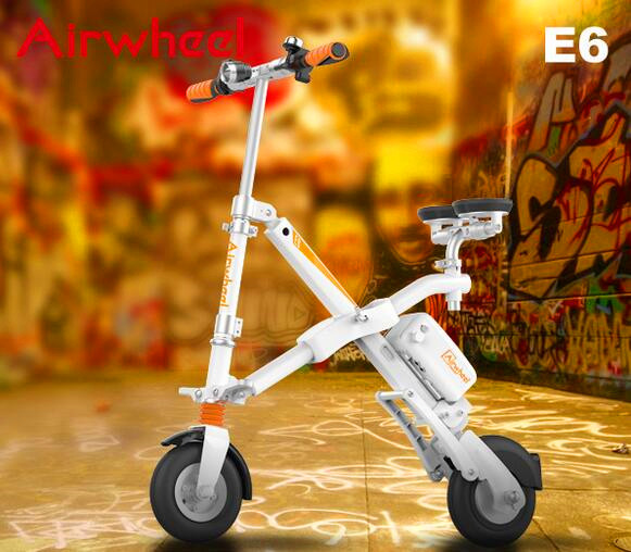 Airwheel E6 battery operated bicycle