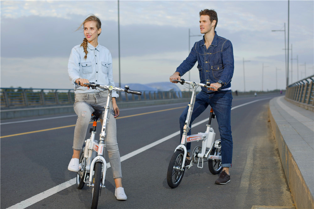 citizen folding electric bikes