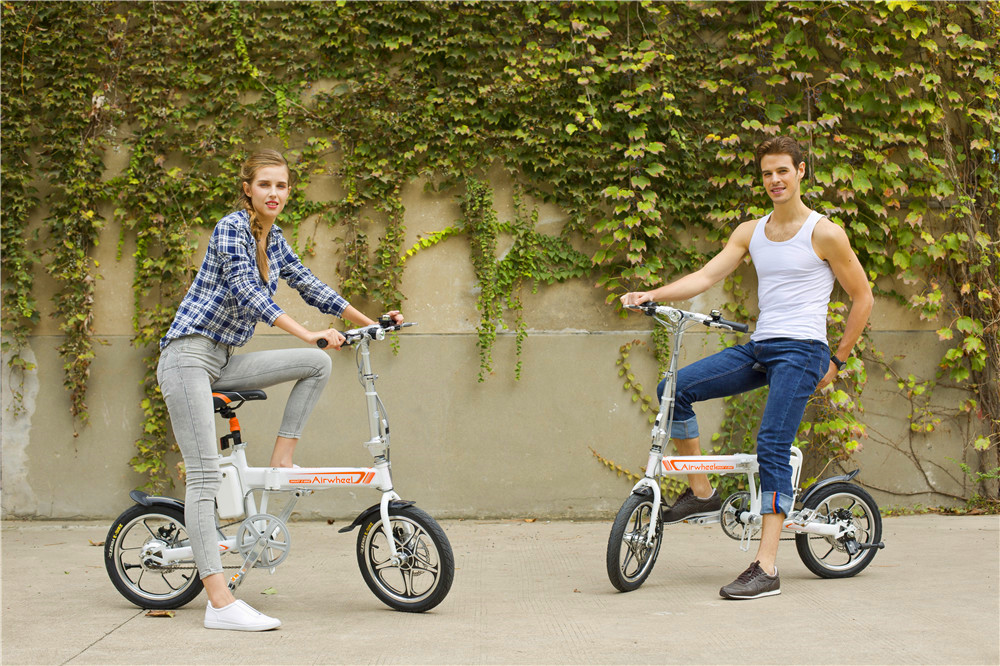 R5 citizen folding electric bike