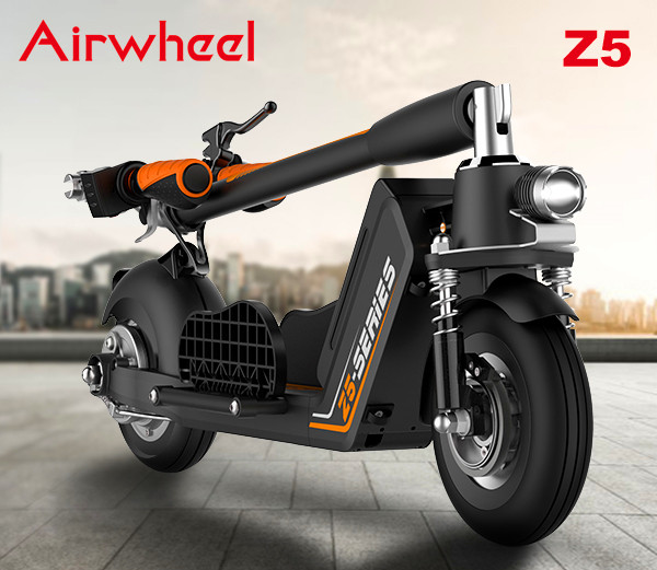 Airwheel Z5 standing up electric scooter