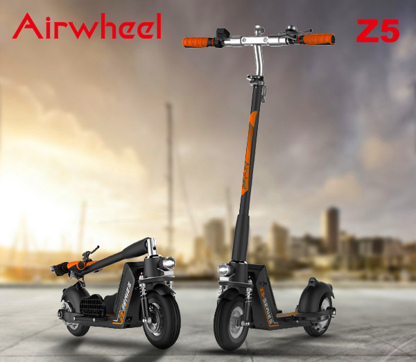 Airwheel intelligent self-balancing scooter