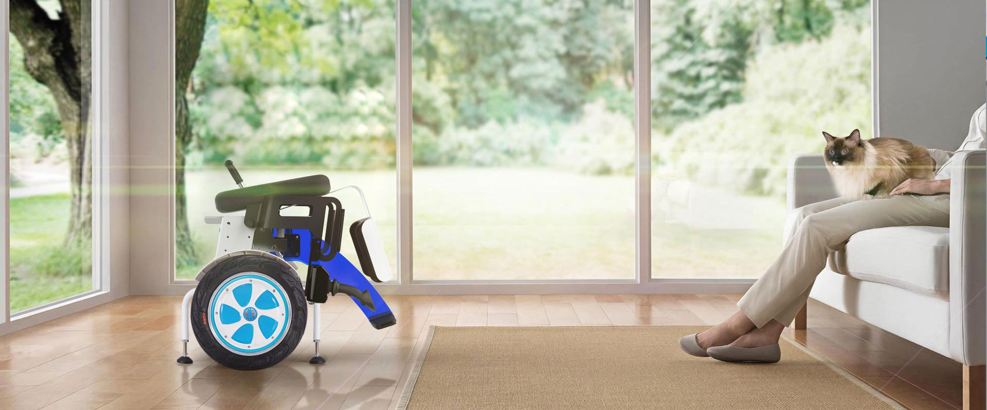 Airwheel A6S Power and Manual wheelchairs