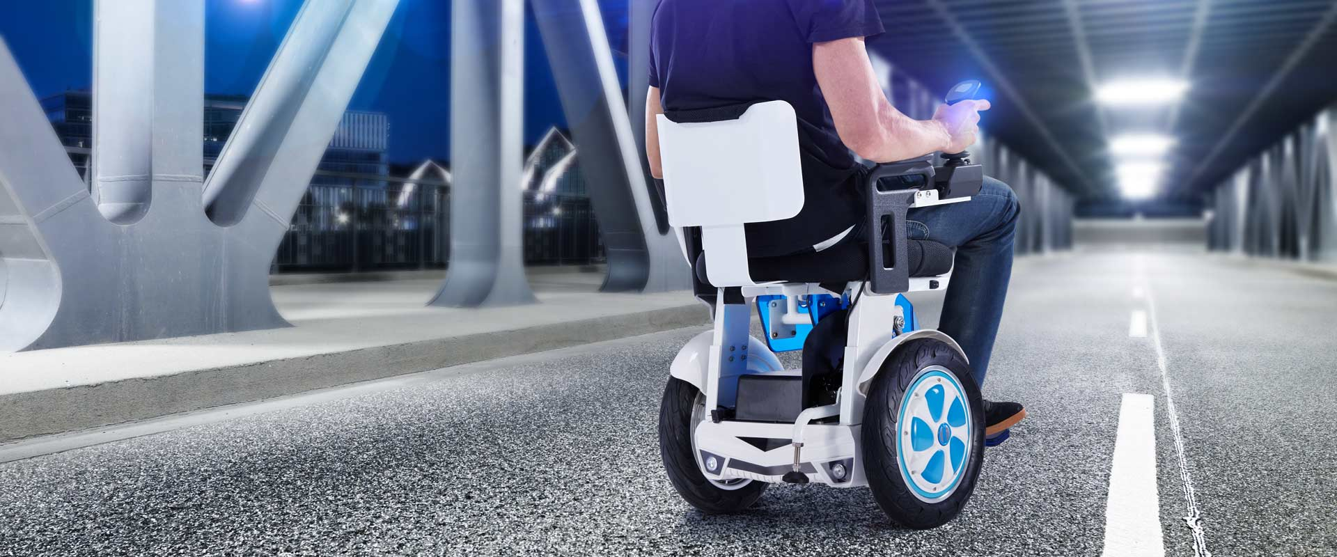 Airwheel A6S Handle Controlled Electric Wheelchair