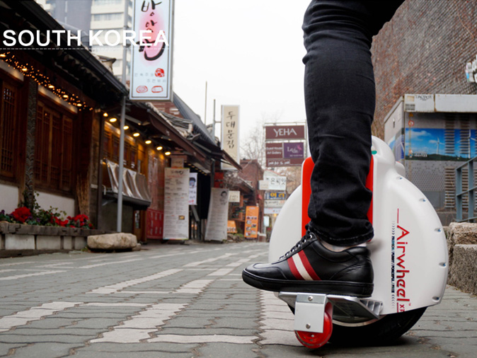 Airwheel X3, electric unicycle
