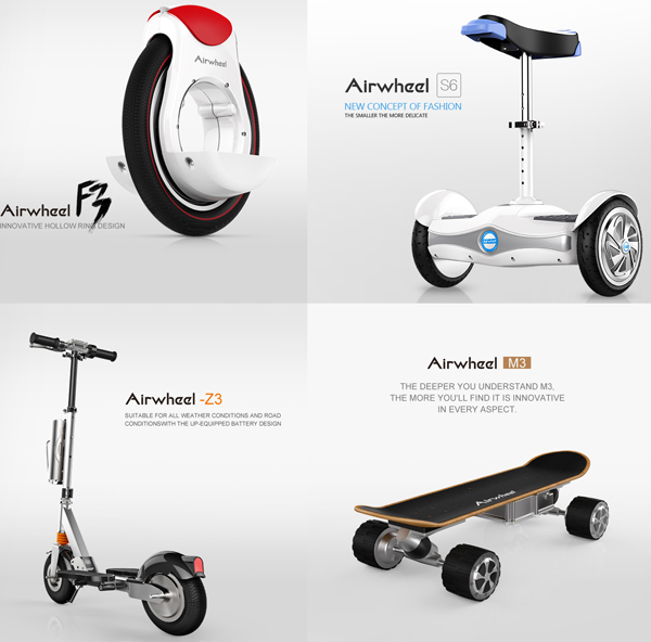 electric self-balancing scooters