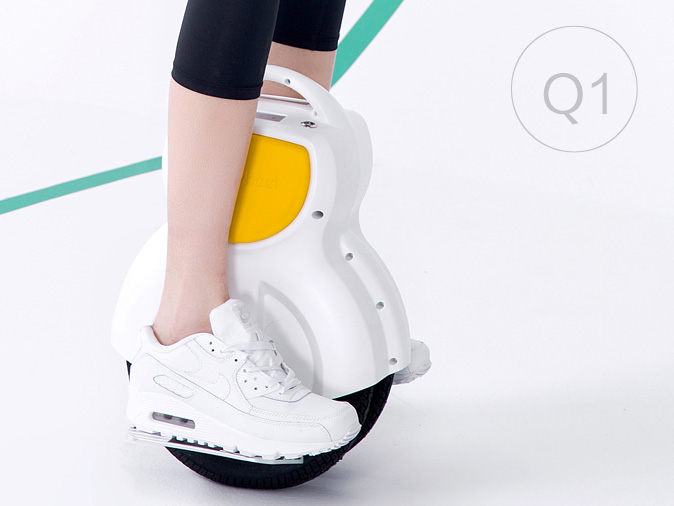 Airwheel Q1, razor scooter electric