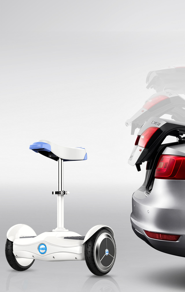2-wheeled electric scooter